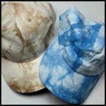 Cap Tie Dye-sand-blue