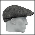 Newsboy-tweed